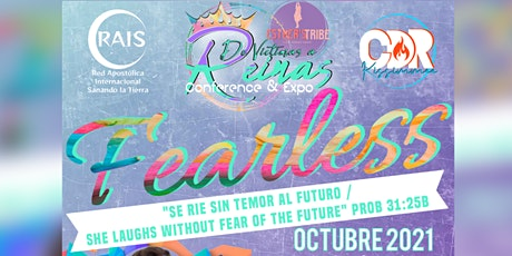 """De Víctimas a Reinas Conference & Expo  """"FEARLESS"""" 2021 tickets"""