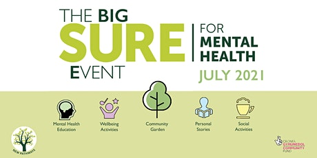 The BIG SURE for Mental Health Event - Managing Your Mind: Anxiety tickets