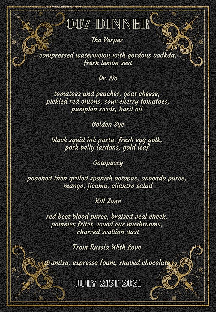 007 Dinner image