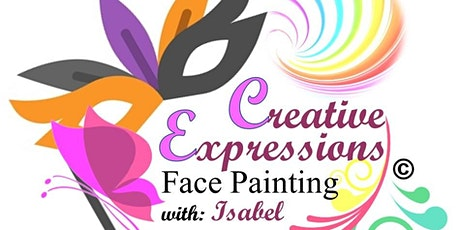 Creative Expressions Face painting first ever Virtual Cookbook Unveiling tickets