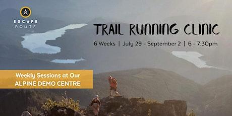 Trail Running Clinic tickets