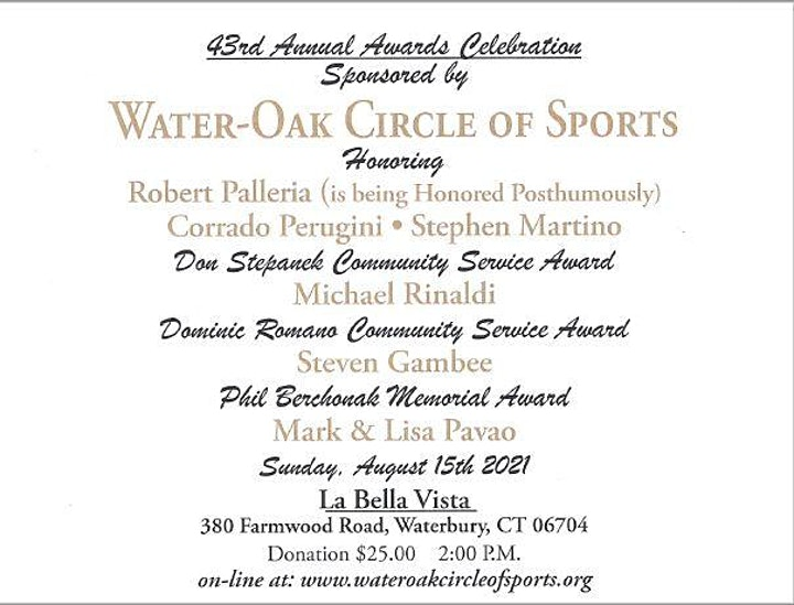 43rd Water-Oak Circle of Sports Awards Ceremony image
