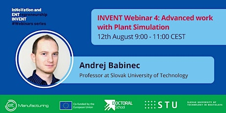 INVENT Webinar #4 - Advanced work with Plant Simulation tickets