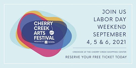 Cherry Creek Arts Festival Timed Entry tickets