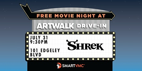ArtWalk Drive-In : Shrek tickets