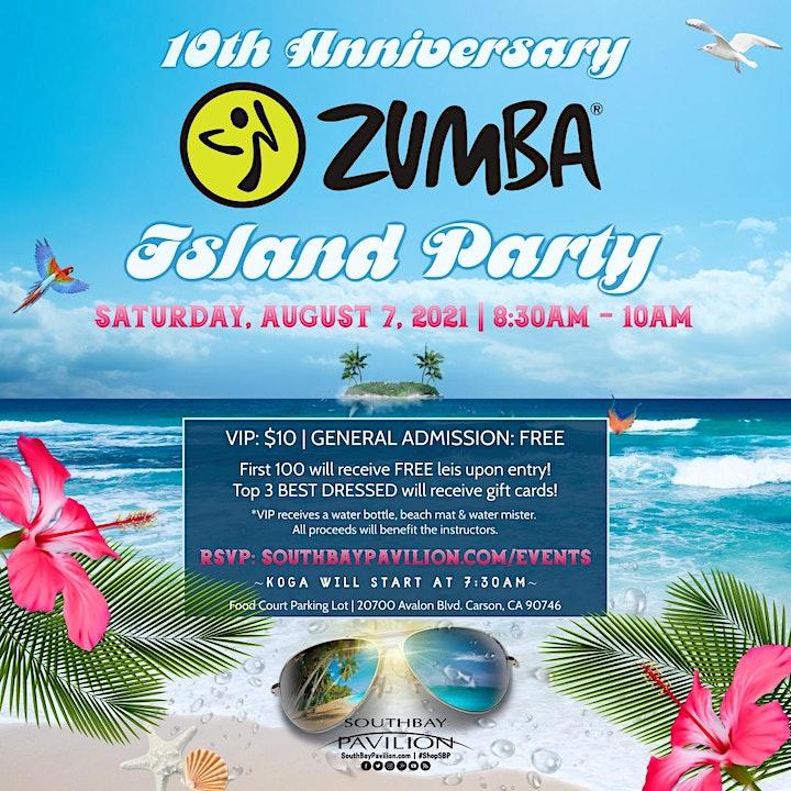 10th Anniversary Zumba Island Party image