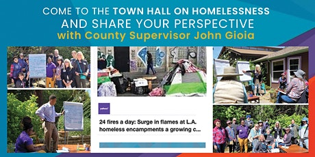 El Sobrante Town Hall on Homelessness With Supervisor John Gioia tickets
