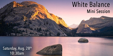 White Balance - Mini Session - In-Store Roseville CA tickets