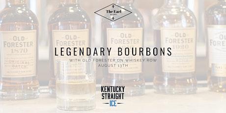 "Legendary Bourbon Series ""Whiskey Row"" tickets"