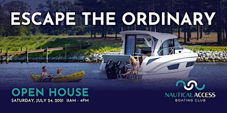 Nautical Access Boating Club Open House tickets