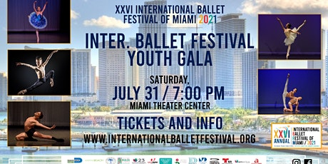 XXVI International Ballet Festival of Miami Young Medalists Performance tickets