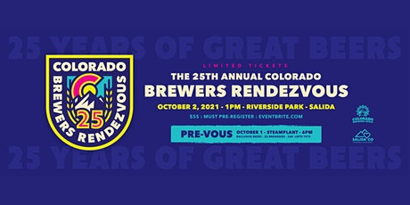 25th Annual Brewers Rendezvous – 2021 tickets