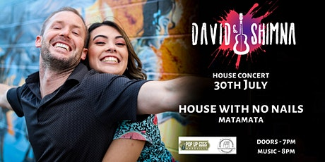 David & Shimna - The House With No Nails Concert tickets