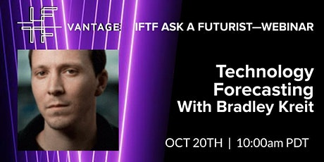 ASK A FUTURIST: Technology Forecasting with Brad Kreit tickets