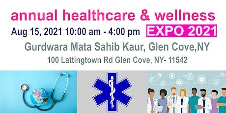 Annual Healthcare & Wellness Expo 2021 tickets