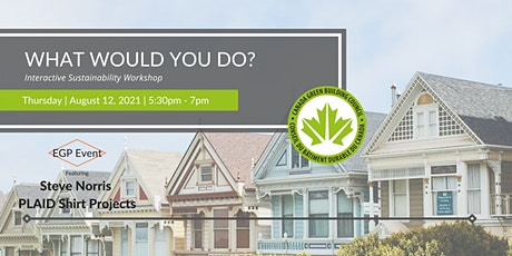 What would you do? - Sustainability Workshop tickets