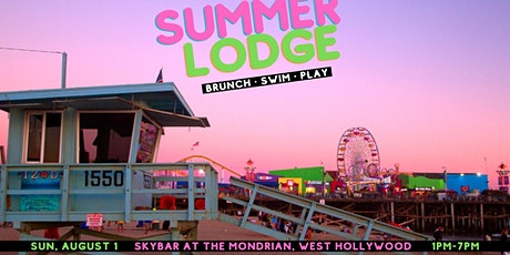 Summer Lodge: Brunch & Pool Party (8.1) tickets