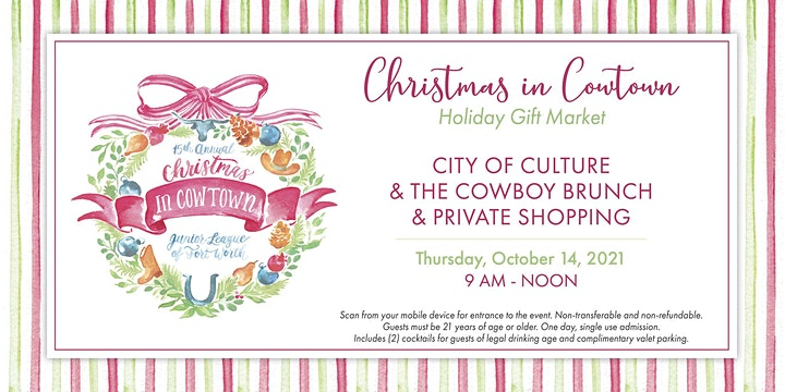 Christmas in Cowtown Holiday Gift Market image