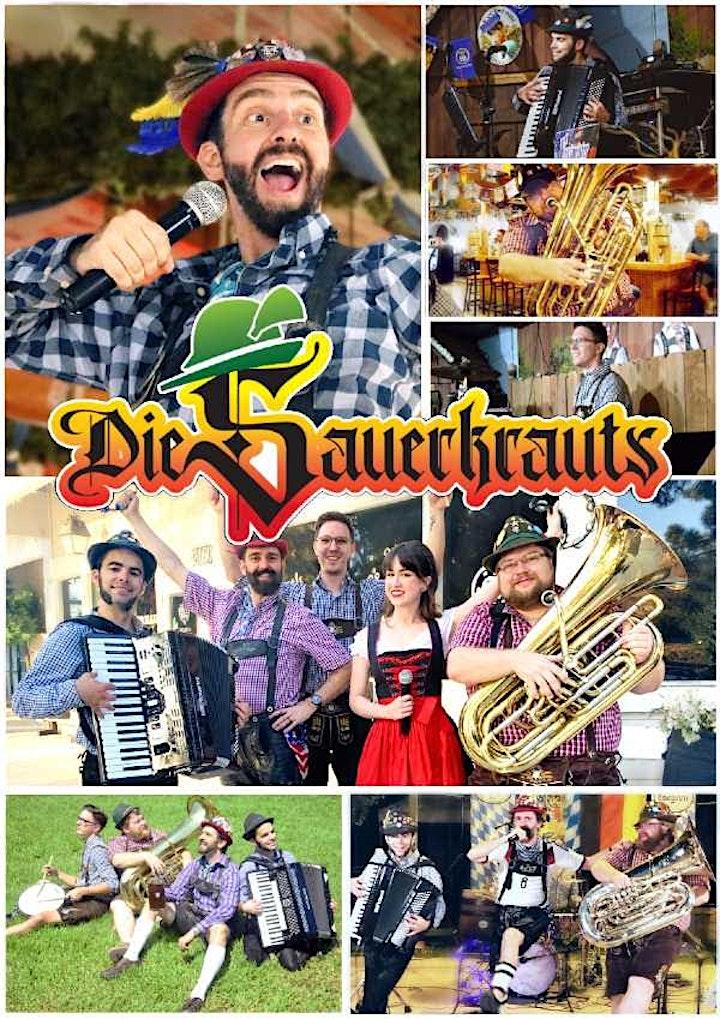 Die Sauerkrauts - Oktoberfest Party Band! image
