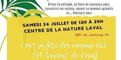 Fête des voisins SVP (St-Vincent-de-Paul) tickets