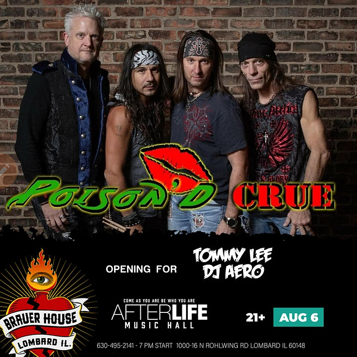 Poison'd Crue at Afterlife Music Hall image
