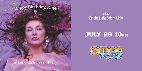 Happy Birthday, Kate *A Kate Bush Party* tickets