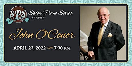 John O'Conor - Salon Piano Series tickets