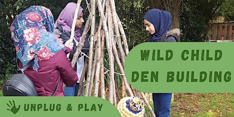 Unplug & Play - Wild Wednesdays: Wild Child Den Building tickets