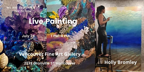 Meet artists in Live Painting Events. tickets
