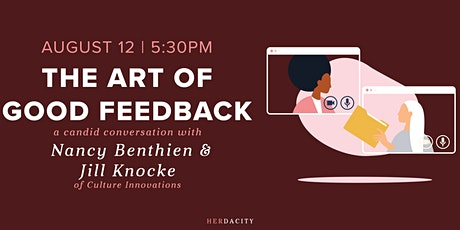 The Art of Good Feedback | a Candid Conversation tickets