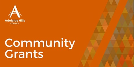 2021-22 Community Grants: Information Session One tickets