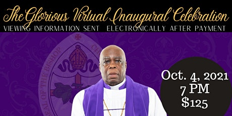 Bishop Aaron Milton Inaugural Celebration tickets