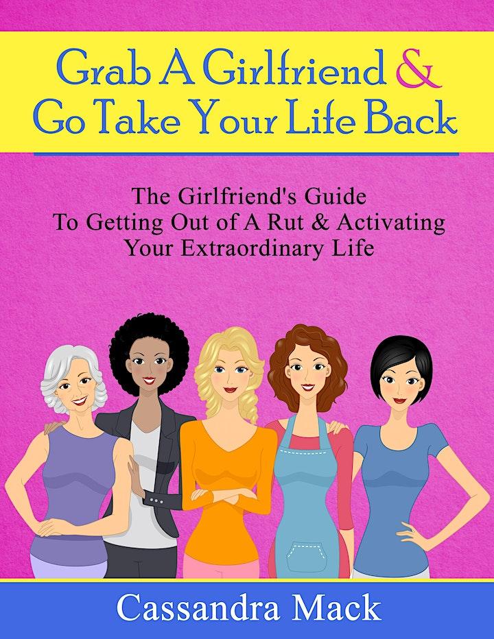 Get Unstuck & Take Your Life  Back: Vision Board Workshop W/ Cassandra Mack image