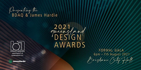 2021 BDAQ+ James Hardie Queensland State Design Awards tickets