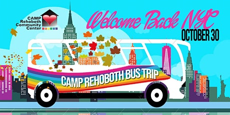 Fall (Back) Into New York CAMP Rehoboth Bus Trip tickets