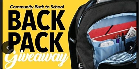 Community  Back to School Back Pack Giveaway tickets