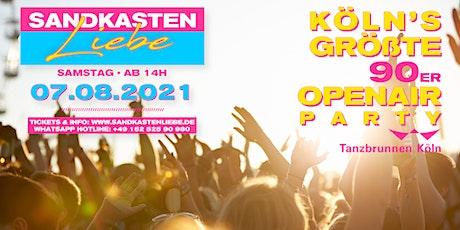 Sandkastenliebe - Köln's größte 90er Open Air Tickets