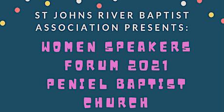 SJRBA Women Speakers Forum 2021 tickets