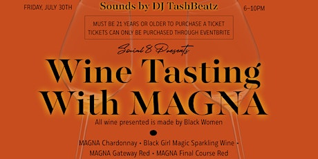 Wine Tasting With MAGNA tickets