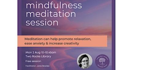 Mindfulness Meditation @ Yanchep Library tickets
