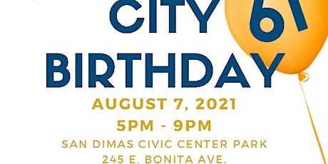 61st San Dimas Birthday Celebration tickets