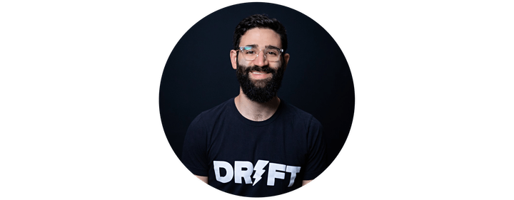 Webinar: How to Build Product that Acquires Users by Drift Product Lead image