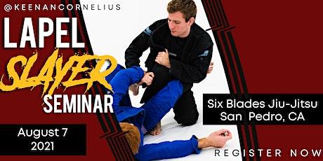 Keenan Cornelius Seminar | Six Blades Jiu-Jitsu San Pedro | San Pedro, CA tickets