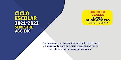 Universidad Teología 2021 boletos