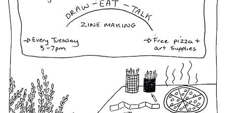 Draw-Eat-Talk tickets