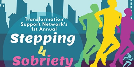 Vendors / Sponsors Registration: Stepping 4 Sobriety 5K Fun Walk/Run tickets