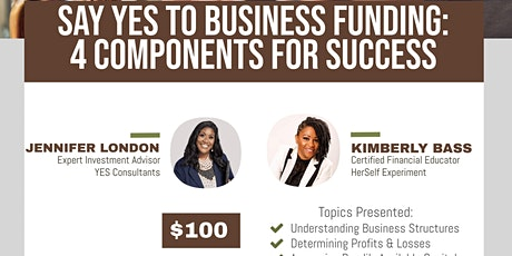 YES To Business Funding tickets