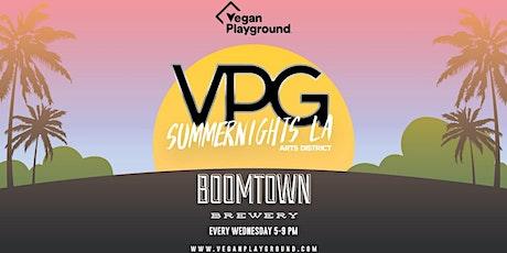 Vegan Playground Summer Nights LA - Boomtown Brewery - September 8, 2021 tickets
