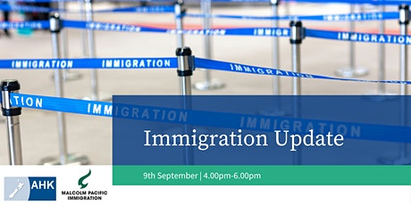 Immigration Update tickets