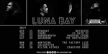 Luna Bay - Music Venue Trust & The National Lottery Revive Live Tours tickets